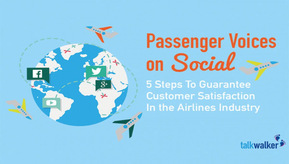 Passenger Voices on Social: 5 Steps To Guarantee Customer Satisfaction In the Airlines Industry