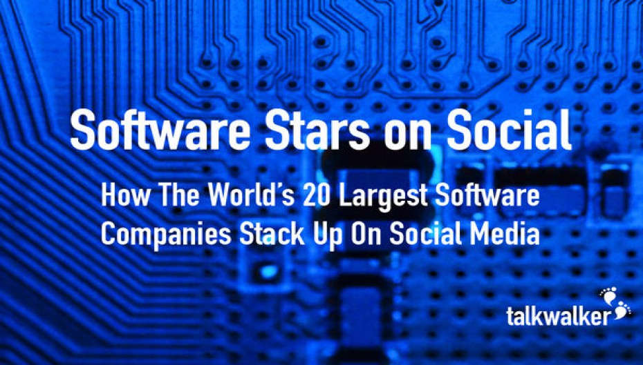 Case Study - Software Stars on Social: The Top 20 Software Brands on Twitter - Part 1