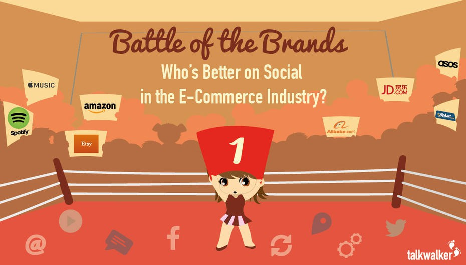 Battle of the Brands: 10 Ecommerce Brands Go Head to Head on Social Media