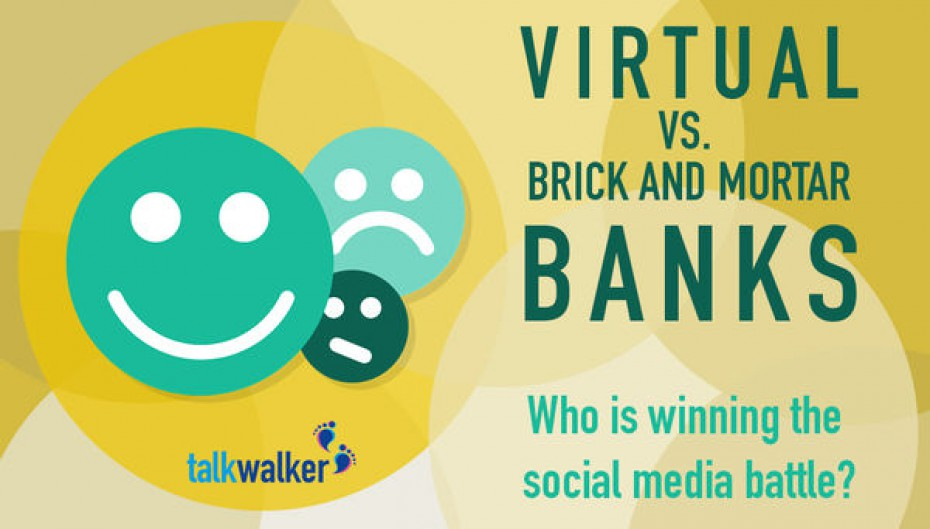 Virtual vs Brick-and-Mortar Banks: Who is Winning the Social Media Battle