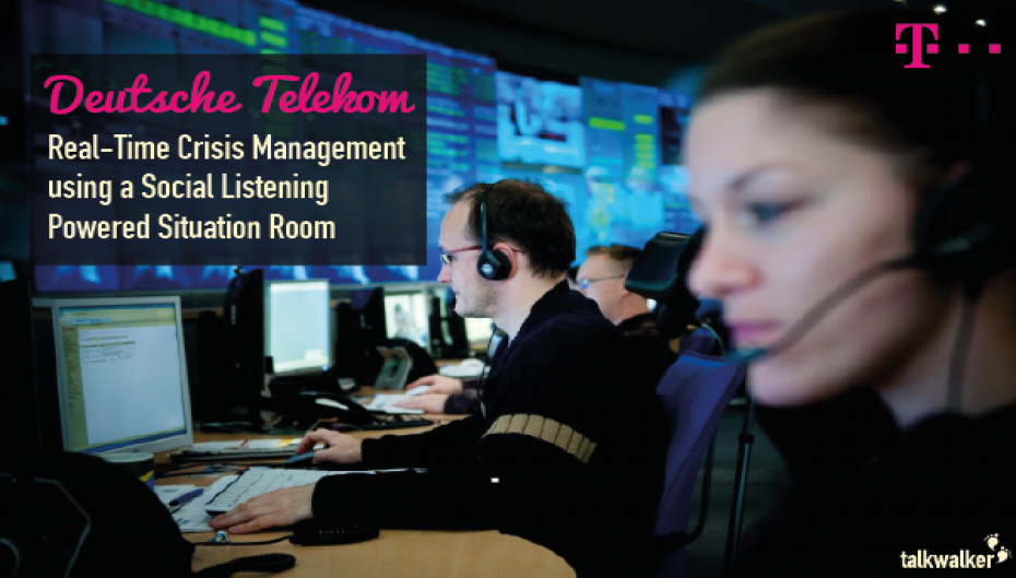 Deutsche Telekom: Real-Time Crisis Management using a Social Listening Powered Situation Room
