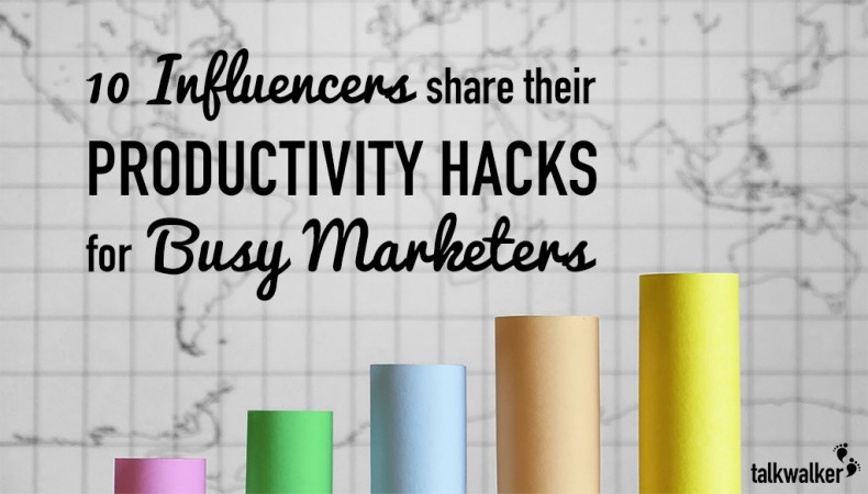 10 Influencers Share Their Productivity Hacks for Busy Marketers