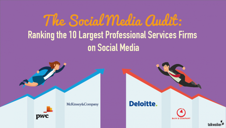 The Top 10 Professional Services Firms on Social Media
