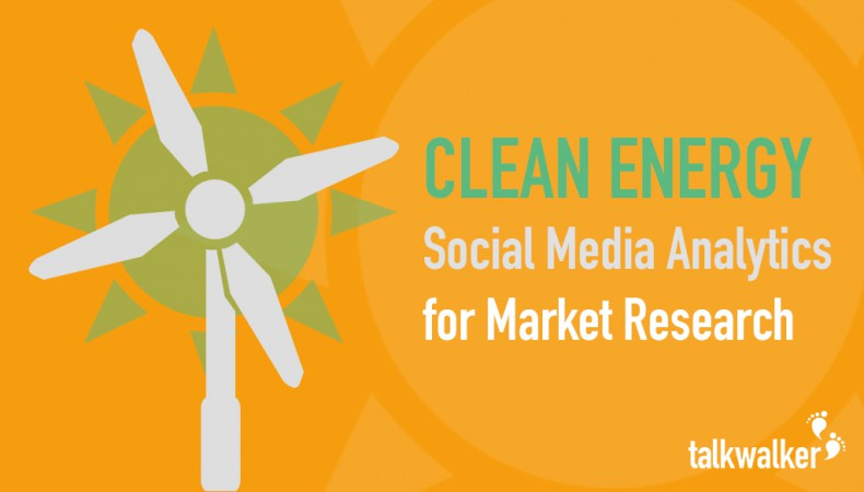 Case Study: Water, wind, sun – which green energy wins online?