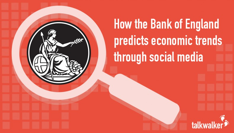 How the Bank of England predicts economic trends through social media monitoring