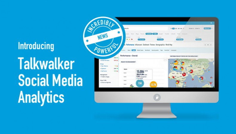 The new Talkwalker: taking social media insight to the next level!