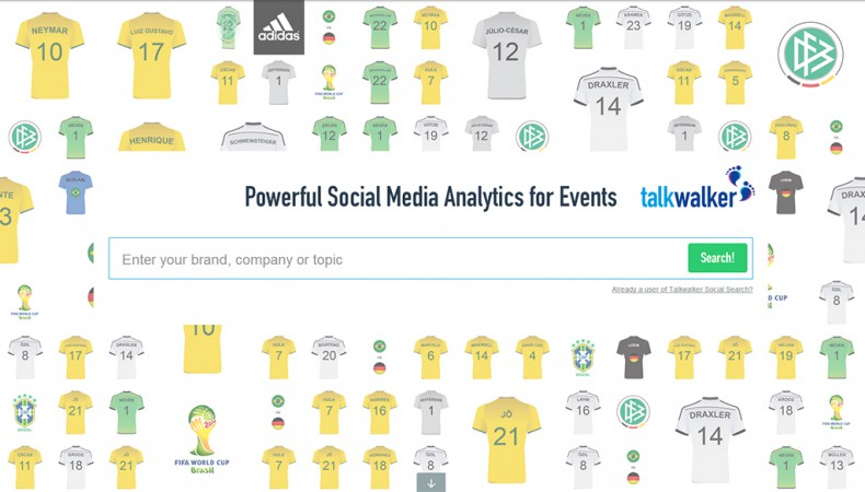 Germany vs Brazil - Performance on and off the field : How the Worldcup players fare in social media