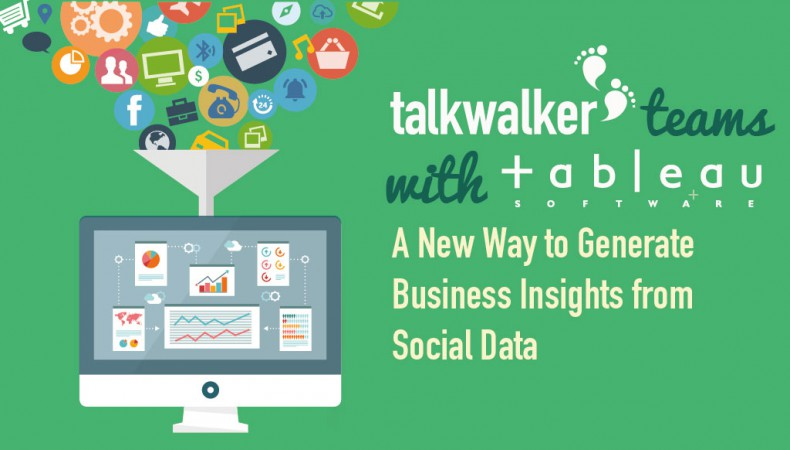 Talkwalker Teams with Tableau: A New Way to Generate Business Insights from Social Data