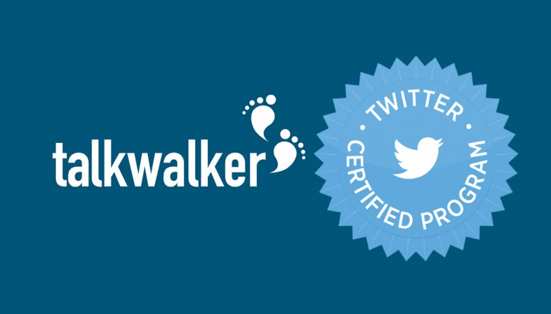 Talkwalker selected to be a Twitter Certified Product