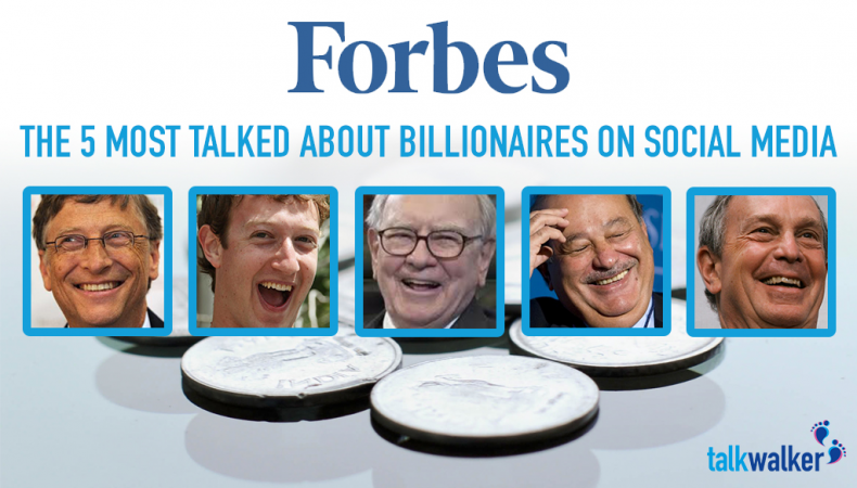 The 5 Most Talked About Billionaires on Social Media