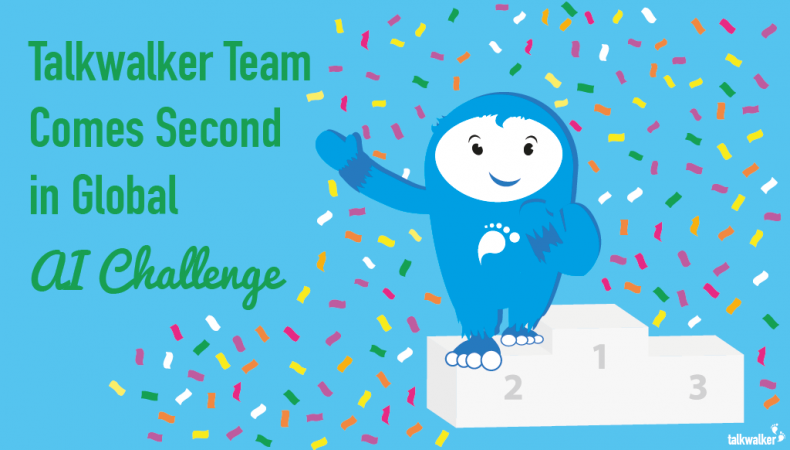 Talkwalker Team Comes Second In Global AI Challenge