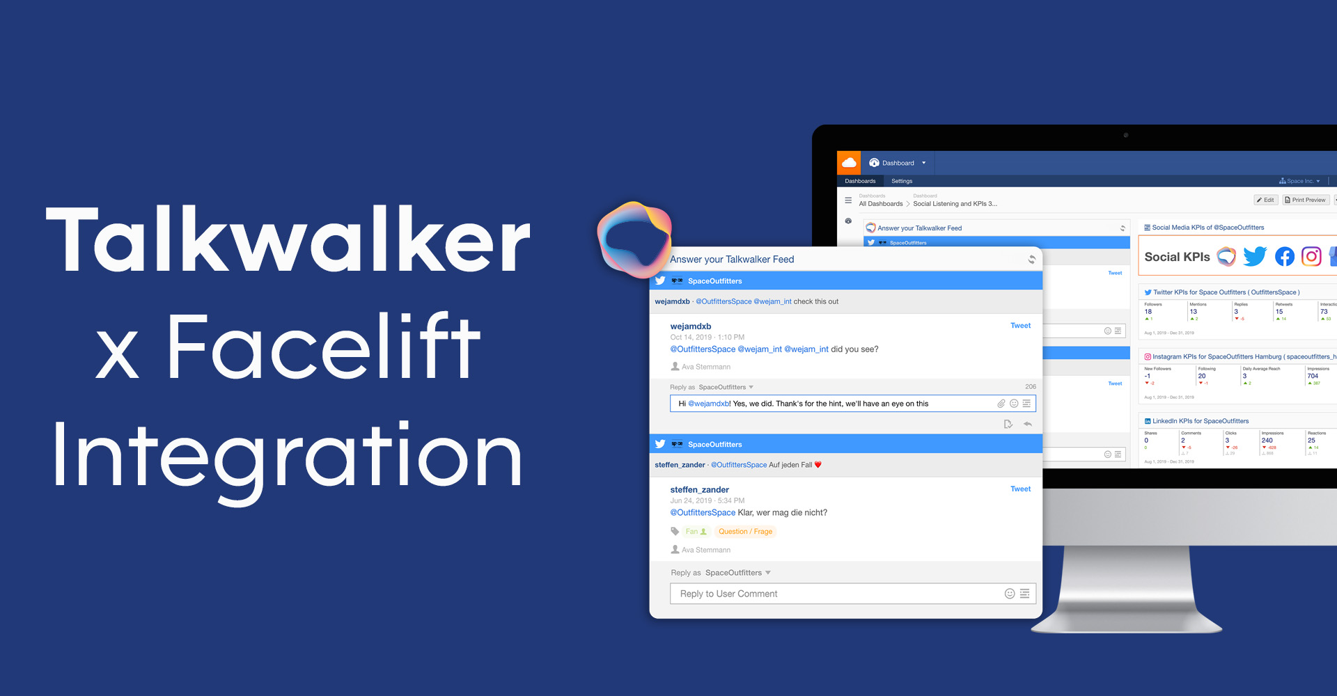 Talkwalker Facelift Integration