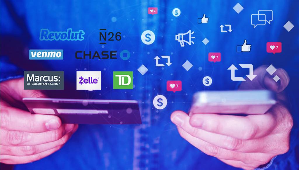 financial services and fintech brands social media and digital strategies