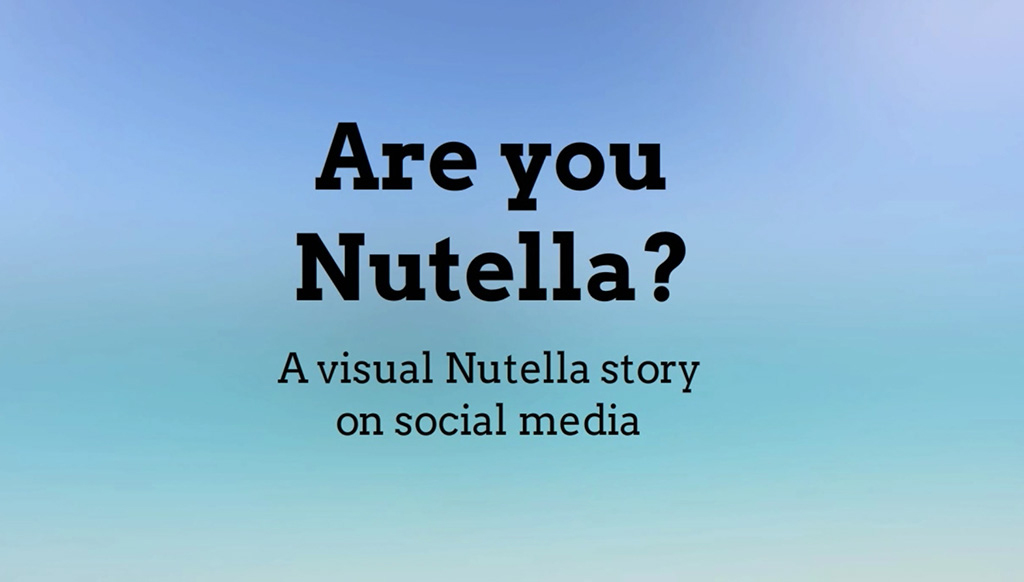Bilderkennung in Aktion: Are You Nutella?