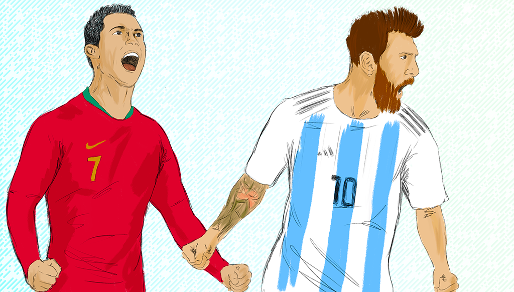Influencer marketing with champions: Ronaldo vs Messi