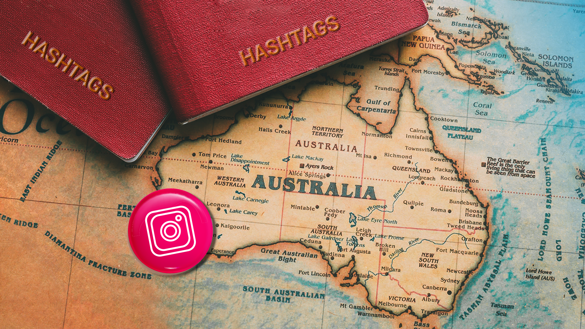 Most popular Instagram hashtags Australia
