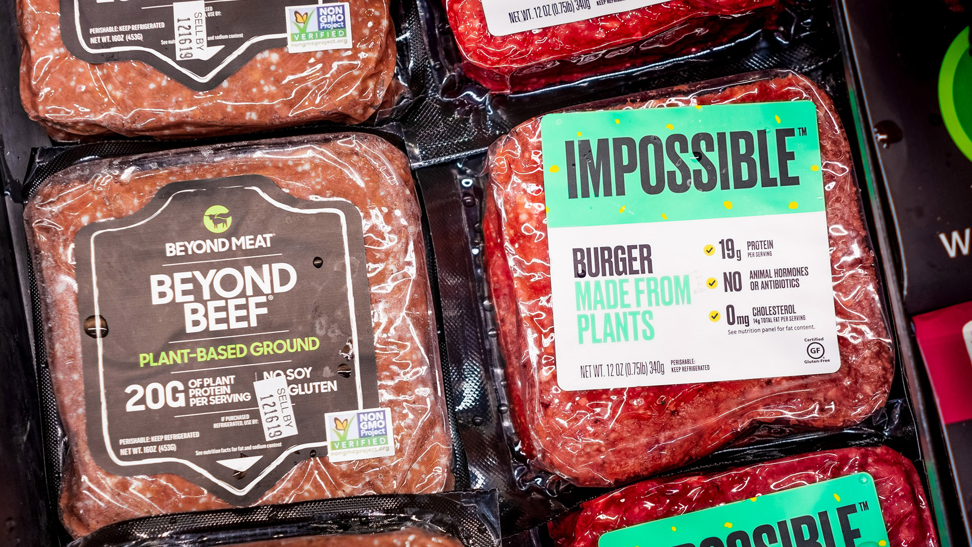 Impossible, Beyond & Nestlé's plant-based burgers disrupt the meat industry