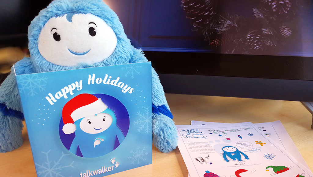 The Talkwalker Yeti does Christmas | Chatting with a social listening superstar!
