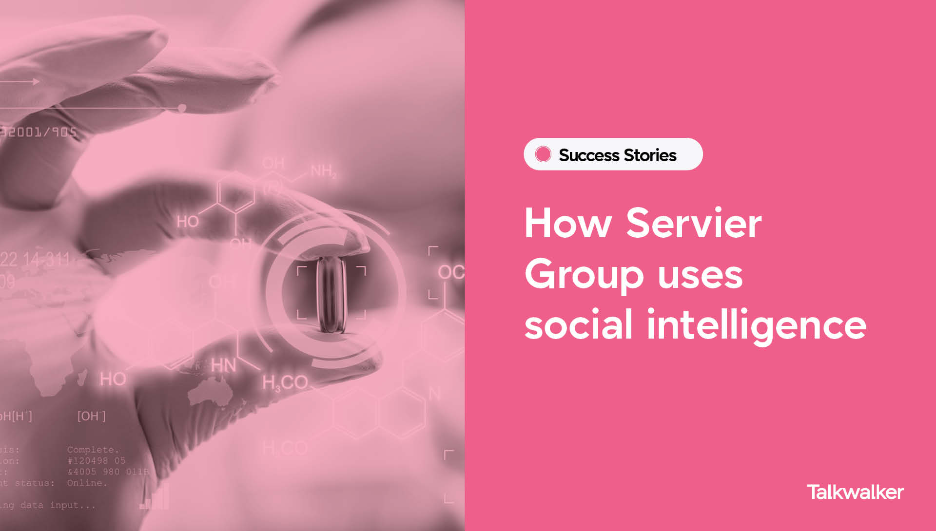 How Servier Group uses social intelligence