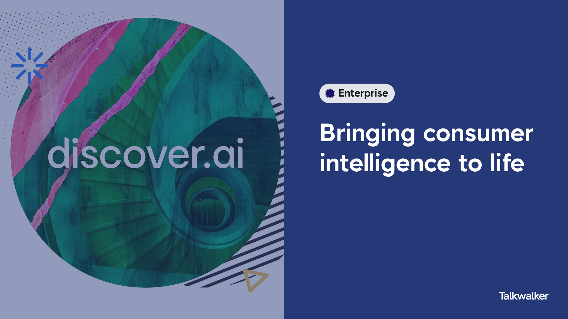 Discover.ai logo and title: Bringing consumer intelligence to life