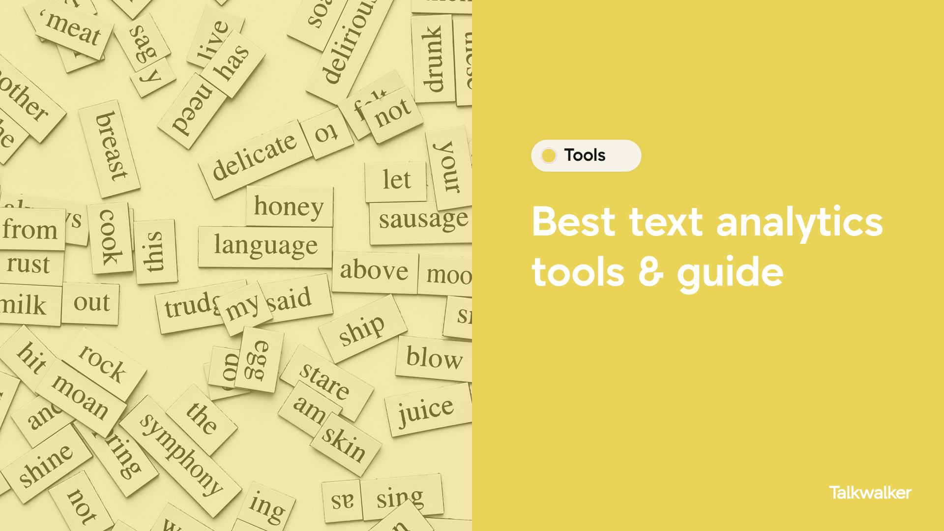 Best text analytics tools and guide