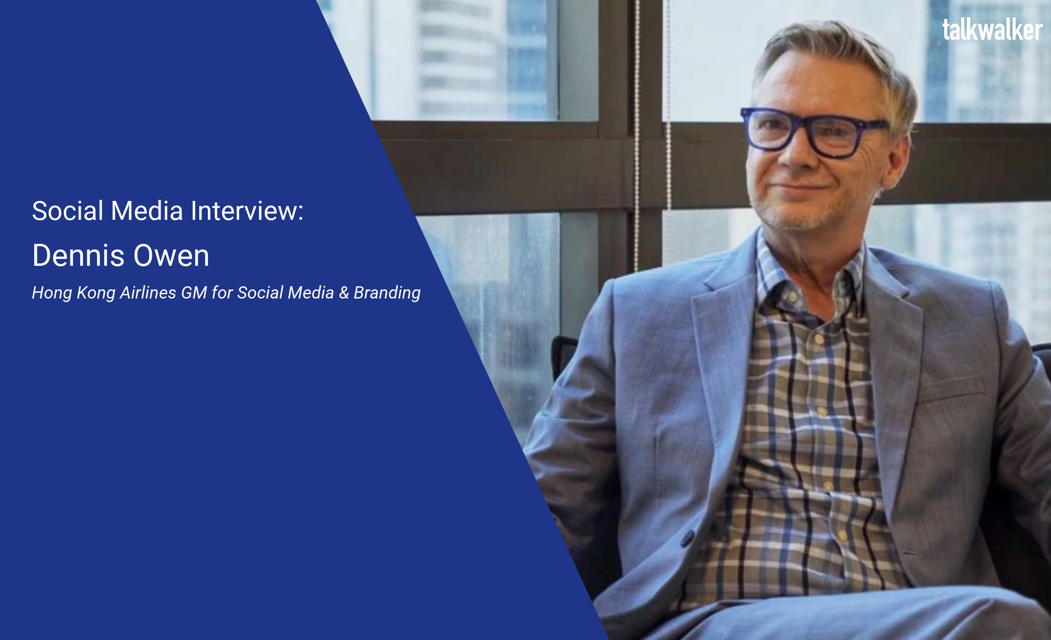 Social Media Interview with Hong Kong Airlines' Dennis Owen