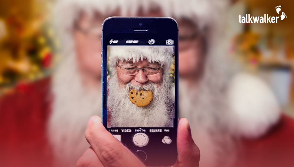 Santa Claus interview with Talkwalker