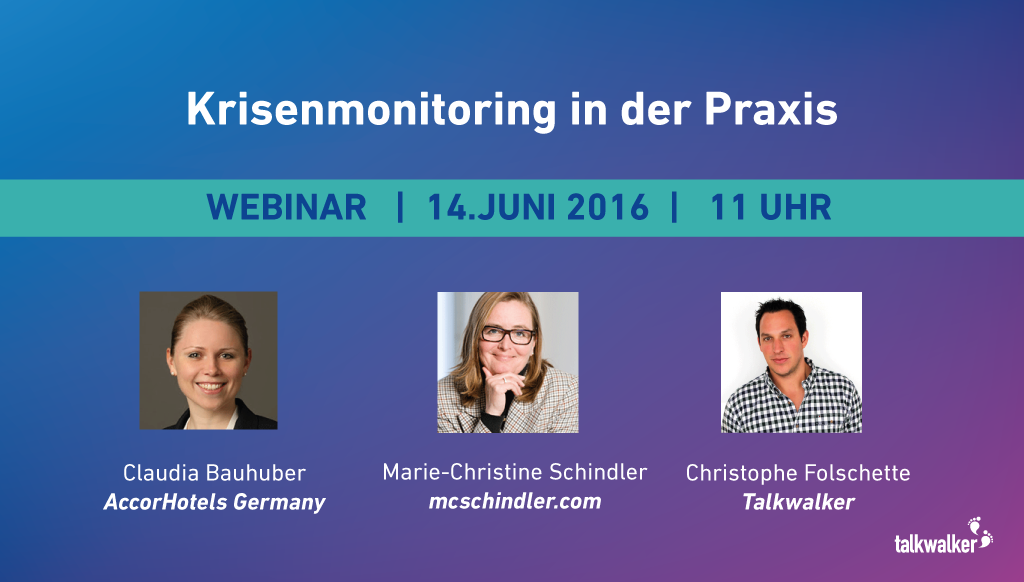 Krisenmanagement und Online Reputation – Webinar Recap