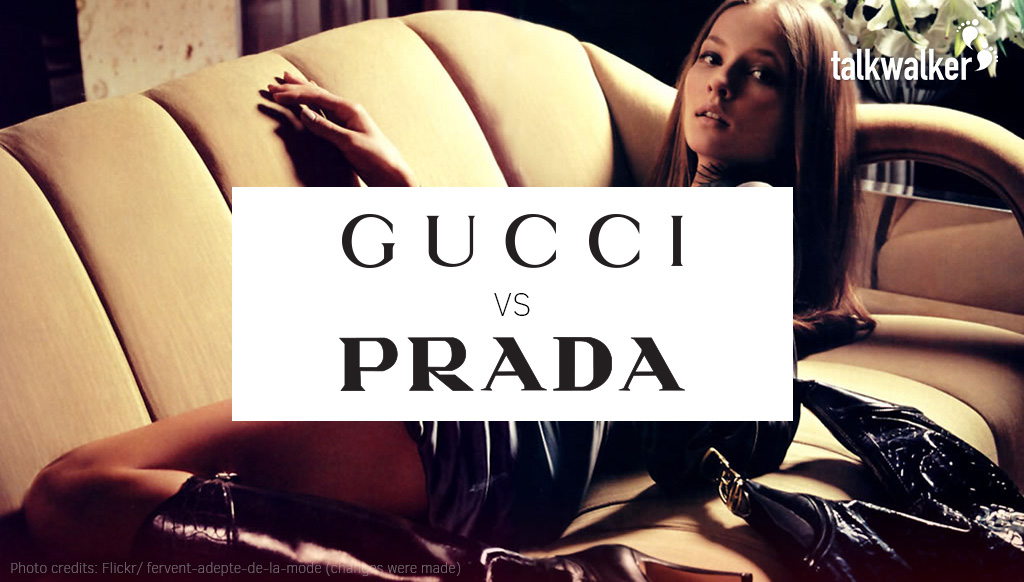 Luxury Fashion Meets Social Media: Gucci vs. Prada