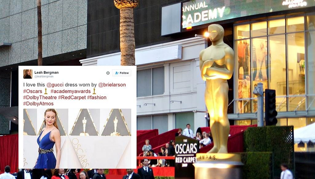 3 Live Event Marketing Tips from Gucci's Social Dominance at Oscars 2016