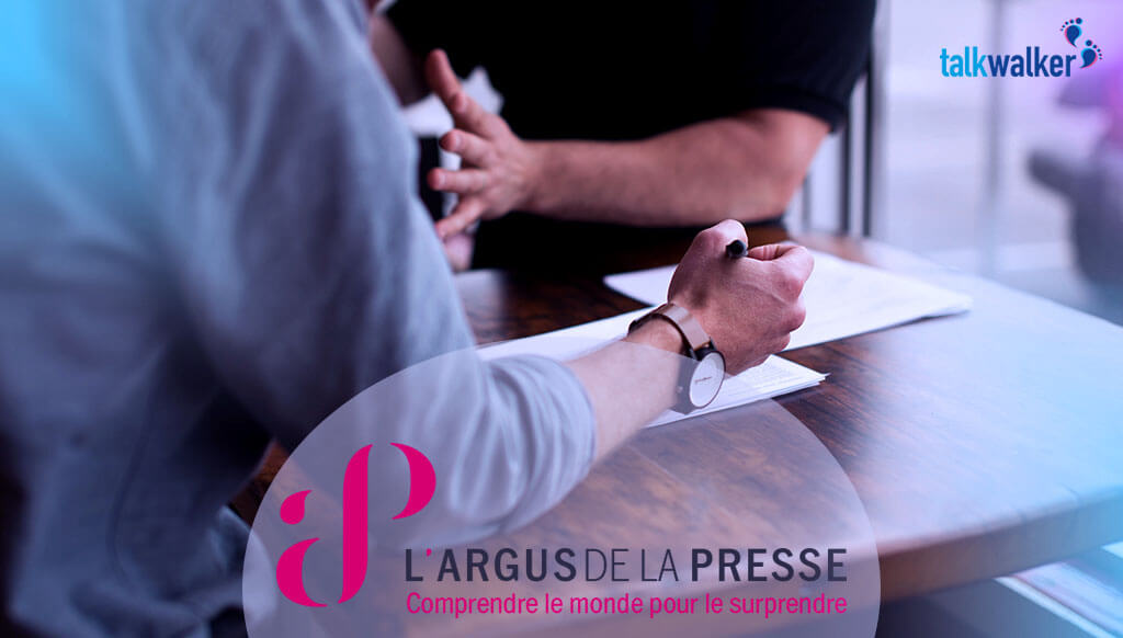 Trendiction and Argus de la Presse partner to offer social media monitoring tool Talkwalker in France