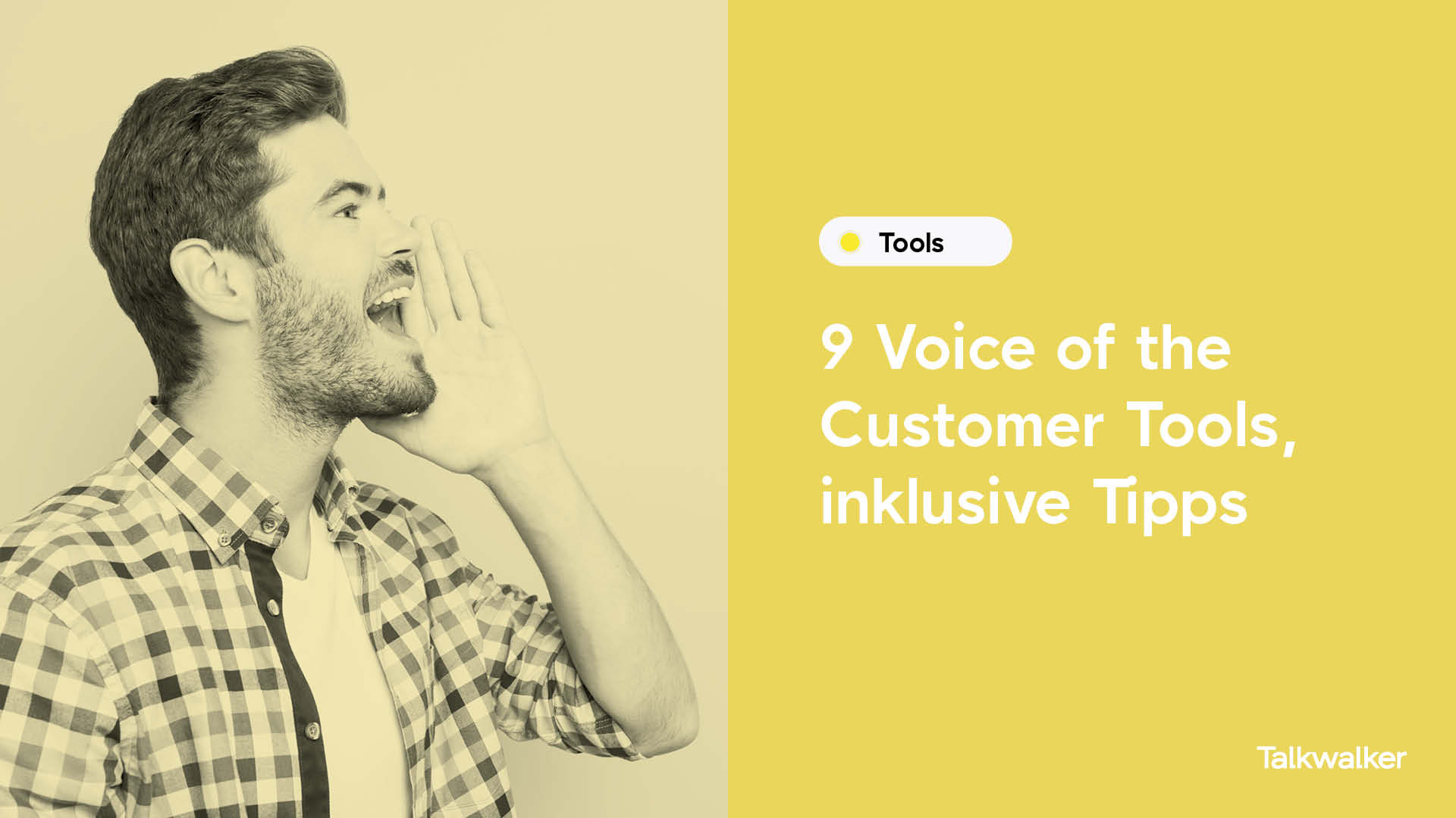 9 Voice of the Customer Tools, inklusive Tipps