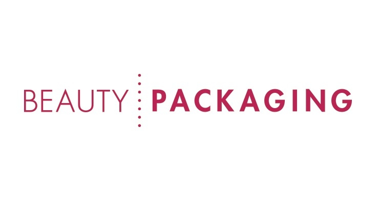 The Beauty Packaging trade magazine logo is shown in red text against a white background.