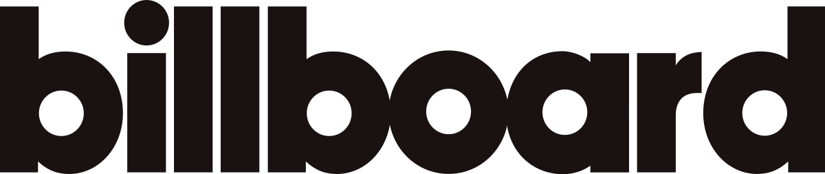 The Billboard logo is shown in black lettering against a white background