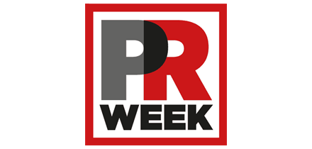 The PRWeek logo is shown against a white background
