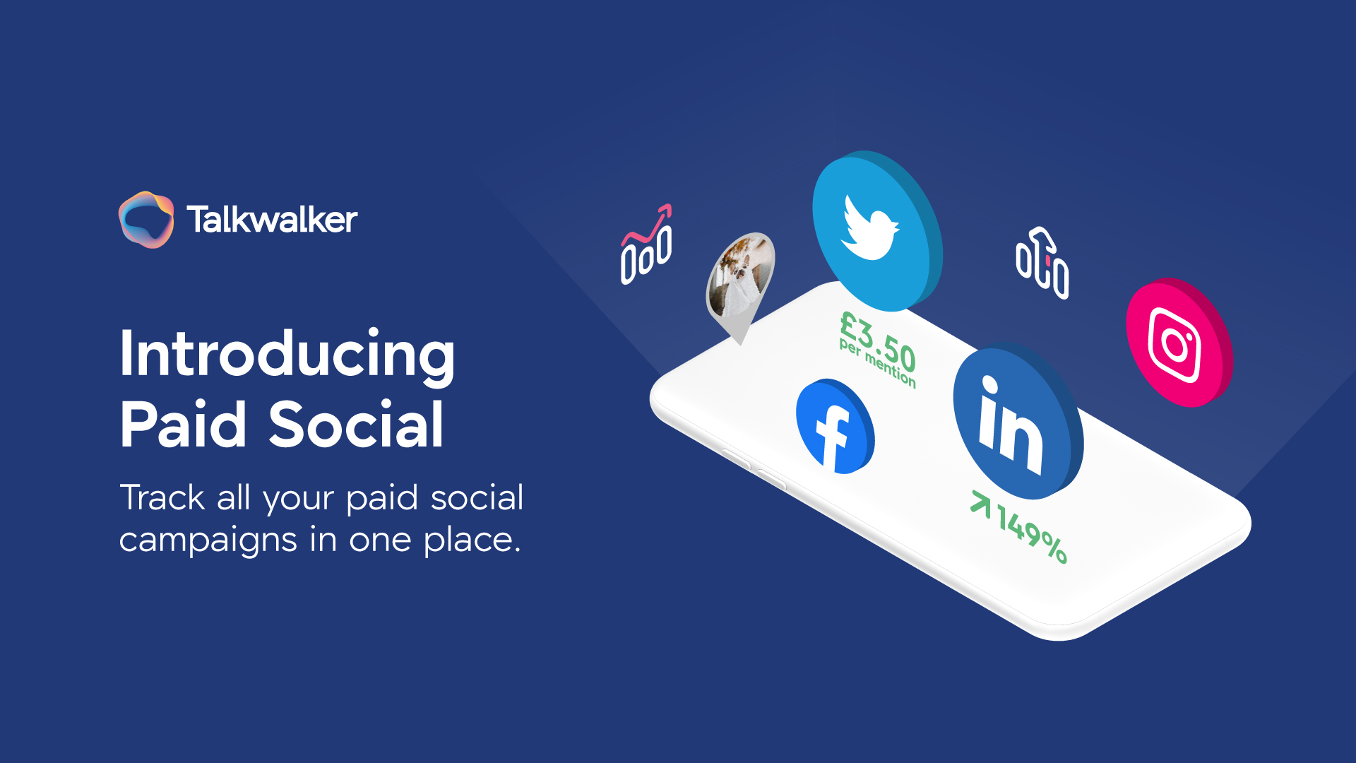Owned, earned and paid social data in one platform