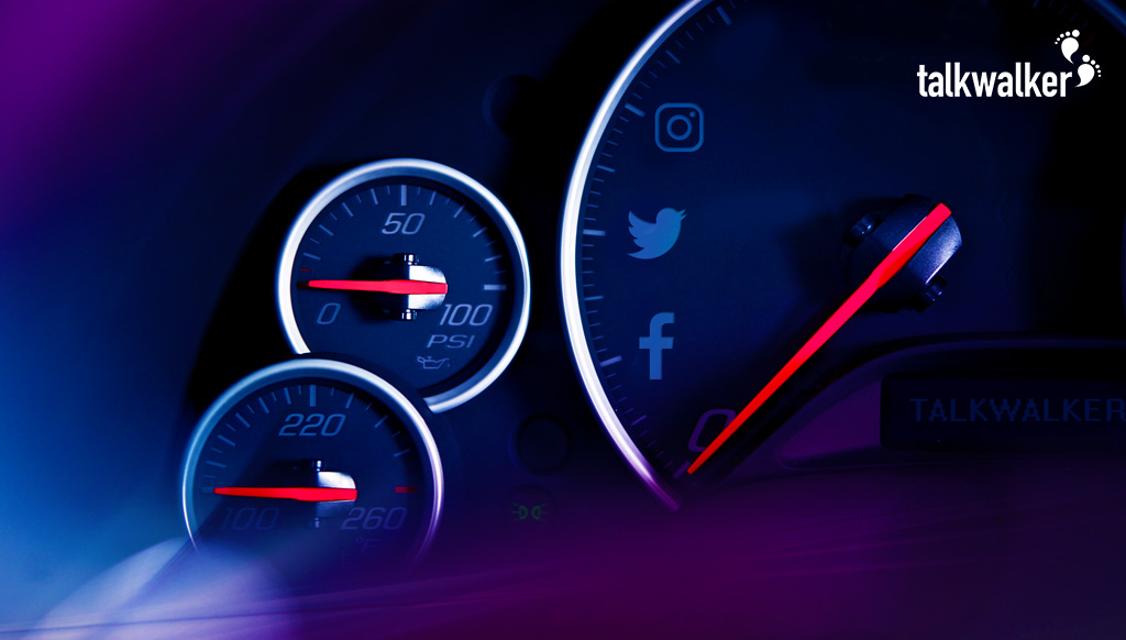 Automotive industry ranking  on social media