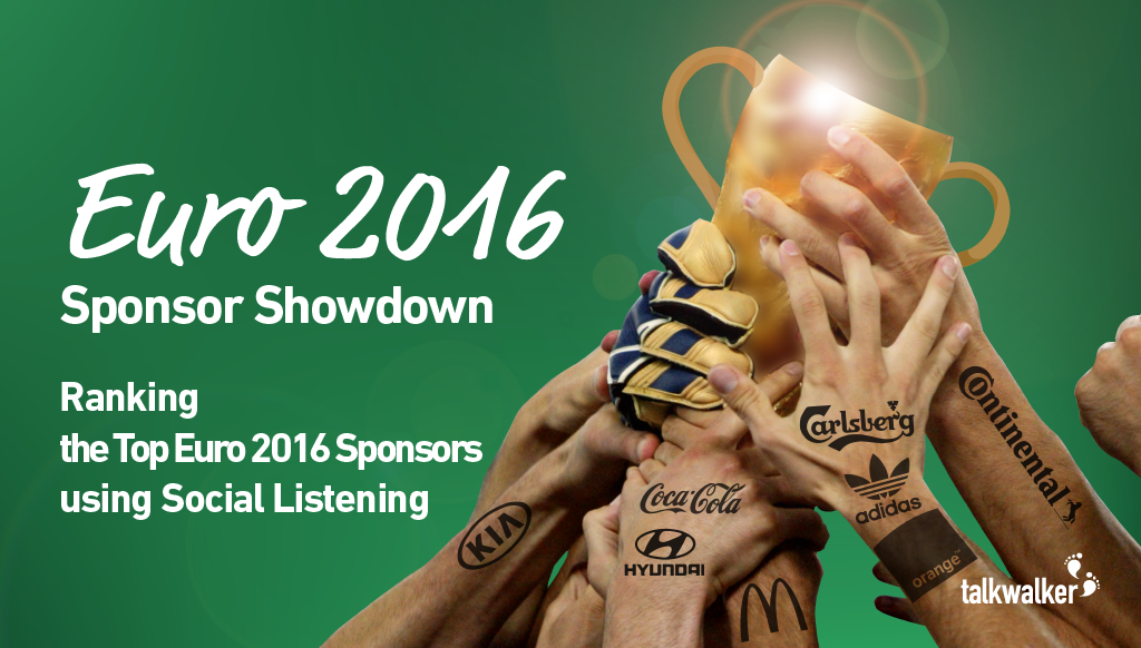 Euro 2016 Sponsor Showdown: Ranking the Top Sponsors at Euro 2016 using Social Listening