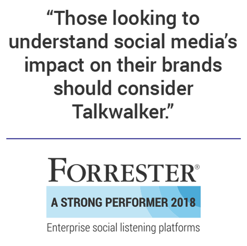 Recognized by Forrester - hitting the top rank in product offering