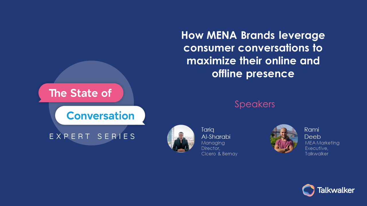 How MENA brands leverage conversations to maximize online and offline presence