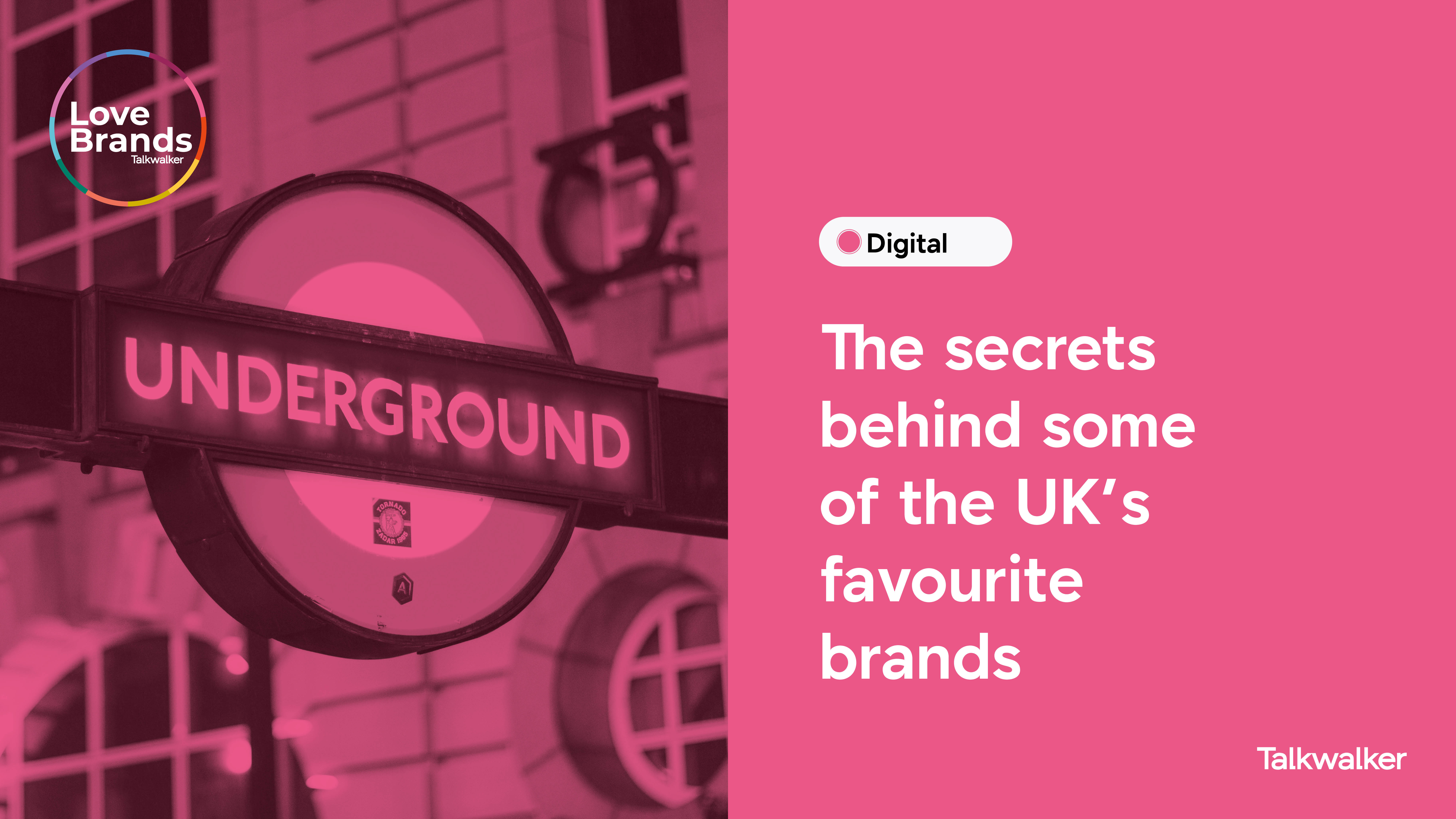 The secrets behind some of the UK's favourite brands with iconic London image