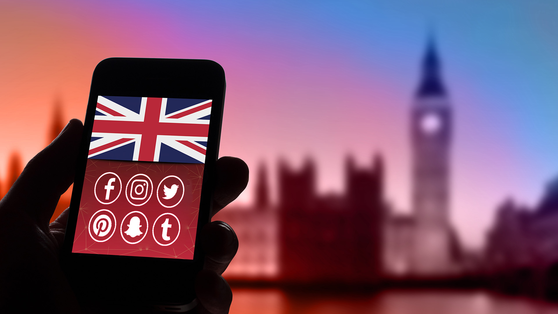 Social media statistics in the UK
