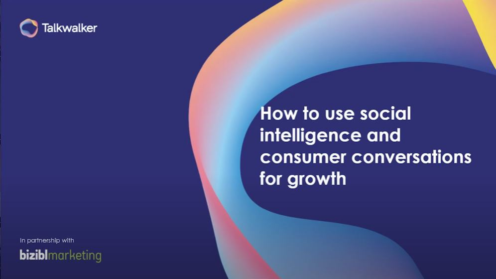 [WEBINAR REPLAY] How to use social intelligence and consumer conversations for growth