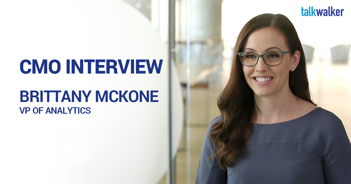 CMO Interview Brittany McKone VP Analytics Weber Shandwick
