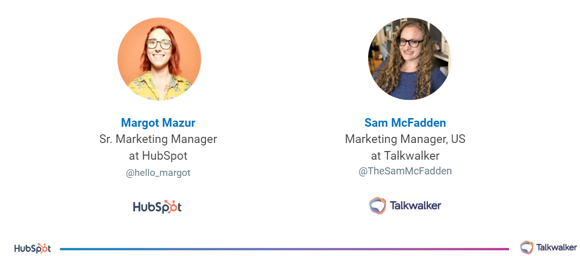 [Webinar] Hubspot and Talkwalker share tips for the data-driven marketing manager