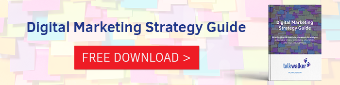 Digital marketing strategy - eBook download