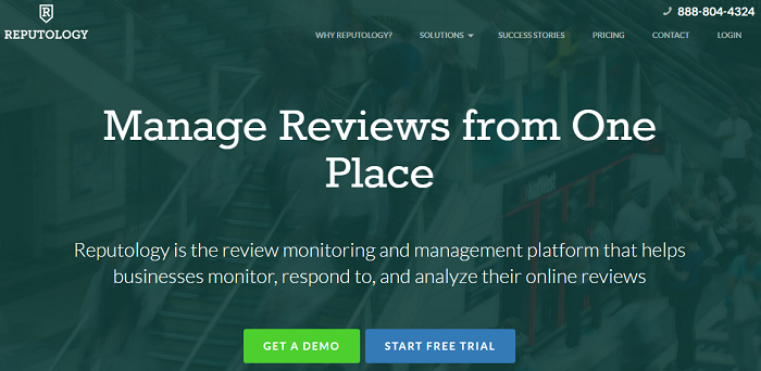 Reputology - social media analytics tools