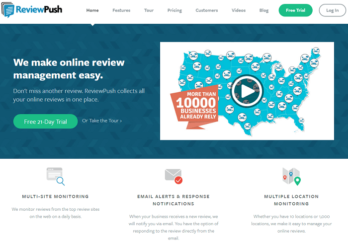 Review Push - ORM tool