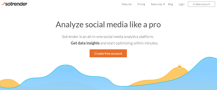 social media analytics tools - sotrender