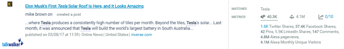 Tesla blog post